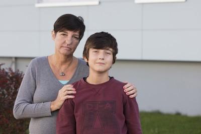 Petra ist für ihren Sohn stark
