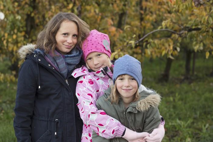 Julia und ihre Kinder
